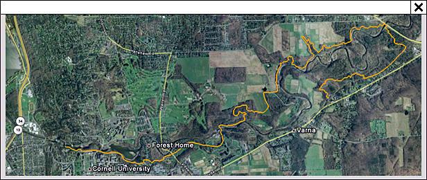 Cornell Plantations Map Cayuga Trails Club :: Trails